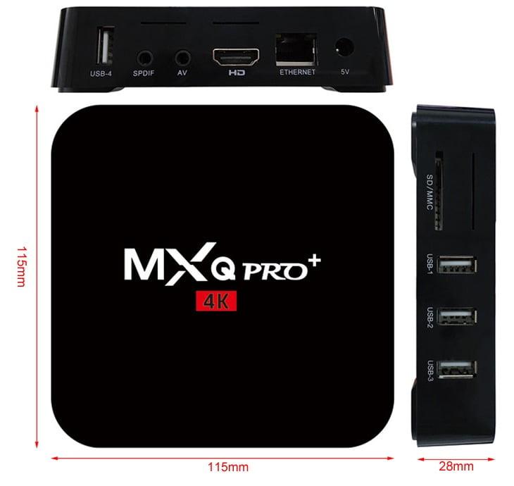 MXQ Pro+ S905 AndroidTV