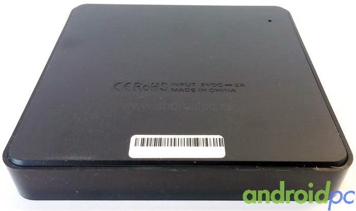 Mini M8S S905 Back