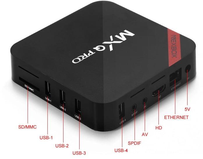 Nexbox mxq pro S905