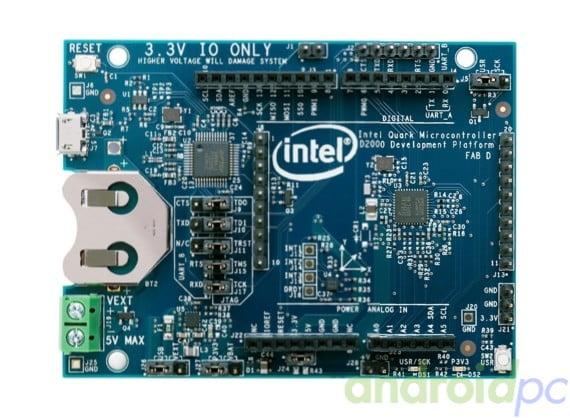 intel curie board n03