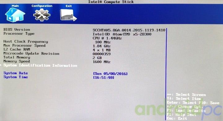 Intel compute stick STK1AW32SC review n10