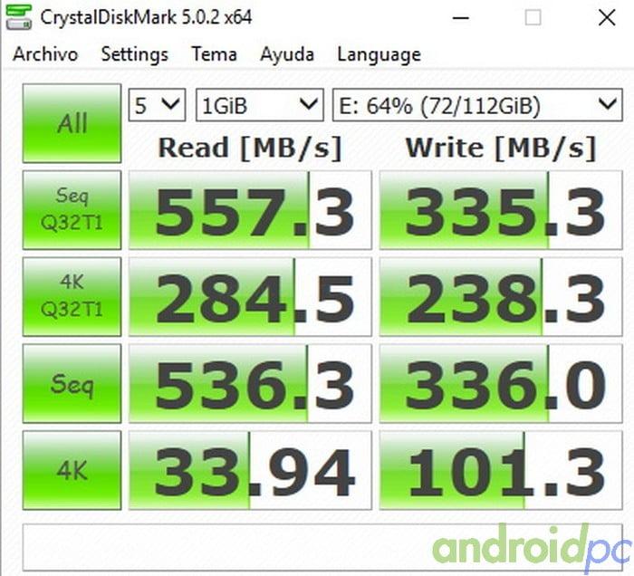 SSD MSATA NETAC M5N 120GB