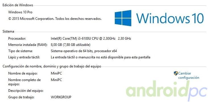 Gigabyte brix s core i3-6100U review desk