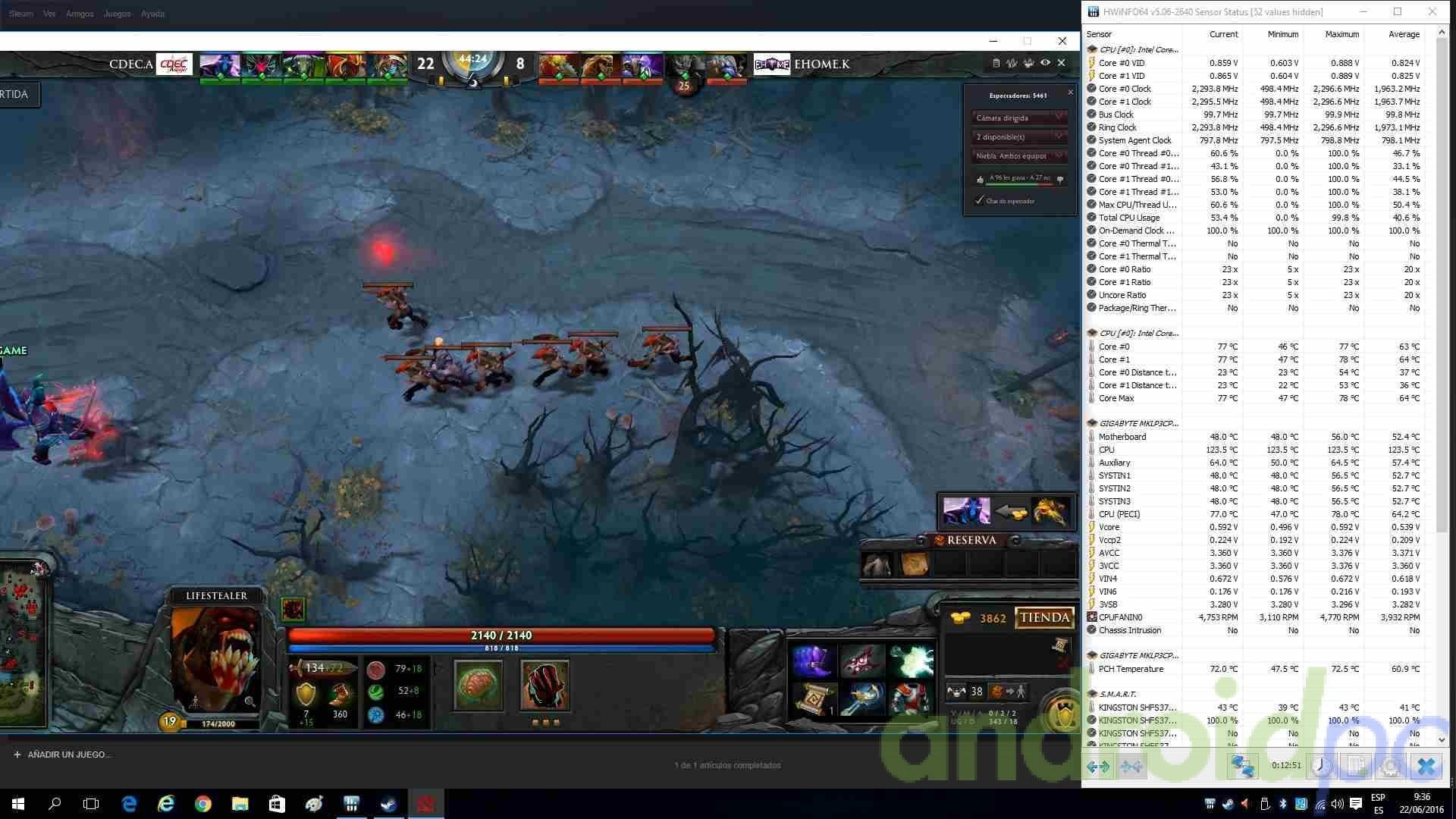 Gigabyte brix s core i3-6100U review gaming2