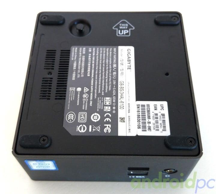 Gigabyte brix s core i3-6100U review n07