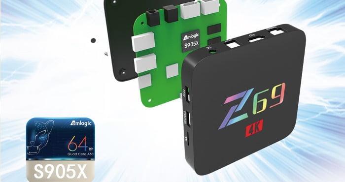 Z69 S905X 4k