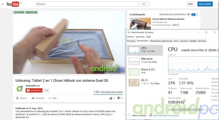 chuwi hibook review android windows you