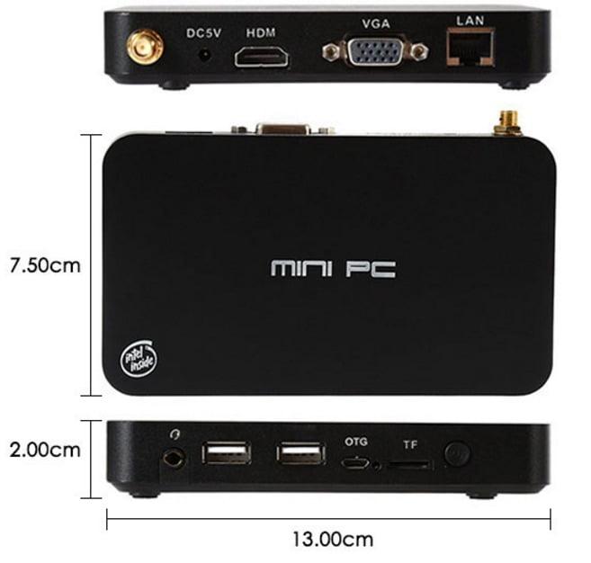 i5 miniPC z3735F