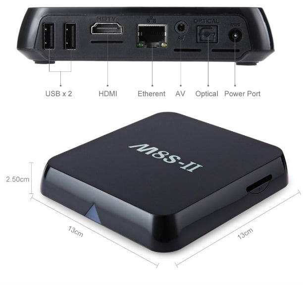 m8S-II S905 AndroidTV
