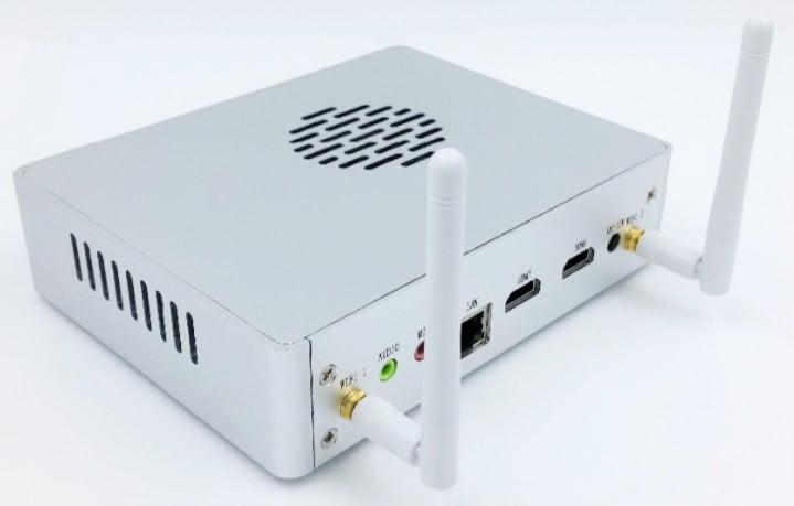 minipc fanless i7 4500U Intel