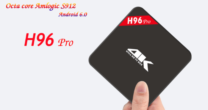 H96 PRO S912 Android 6