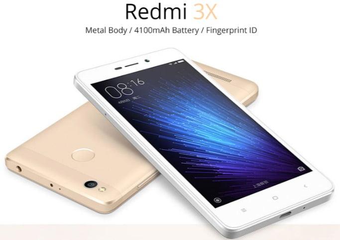 Redmi 3x snapdragon