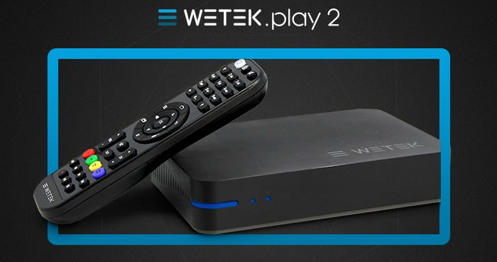 Wetek Play2 S905-H Amlogic 4K