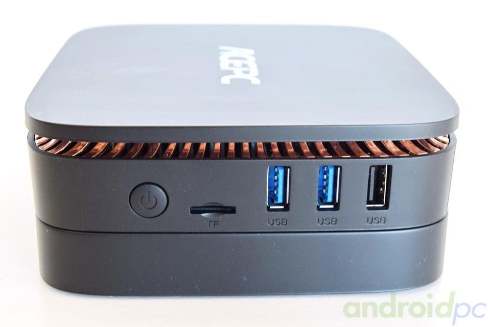 REVIEW: ACEPC AK1 un completo miniPC con Intel J3455 y bahía