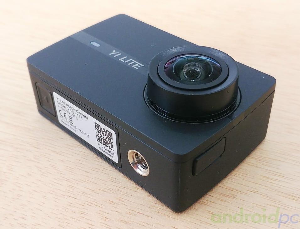 Review yi lite action camera con soporte 4k for Microfono esterno yi 4k