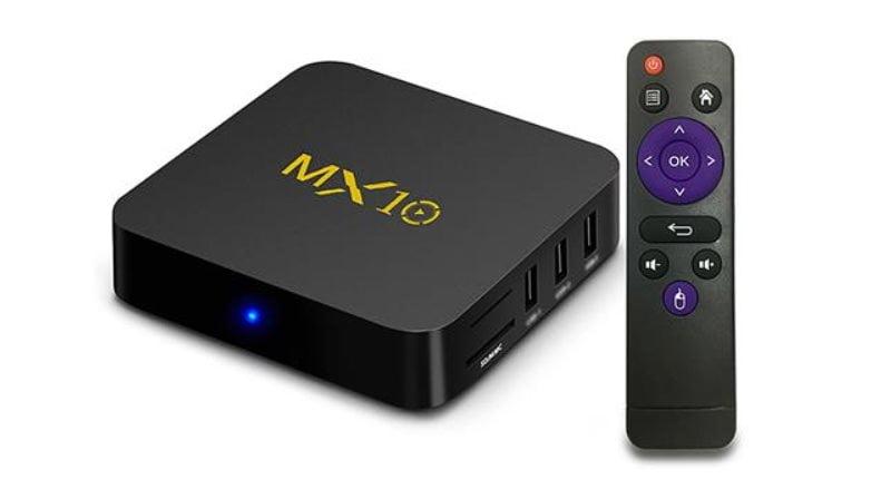 MX10 con SoC Rockchip RK3328 el primer TV-Box con Android