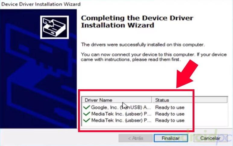 Guía de actualización de firmware para smartphones y tablets con SoC