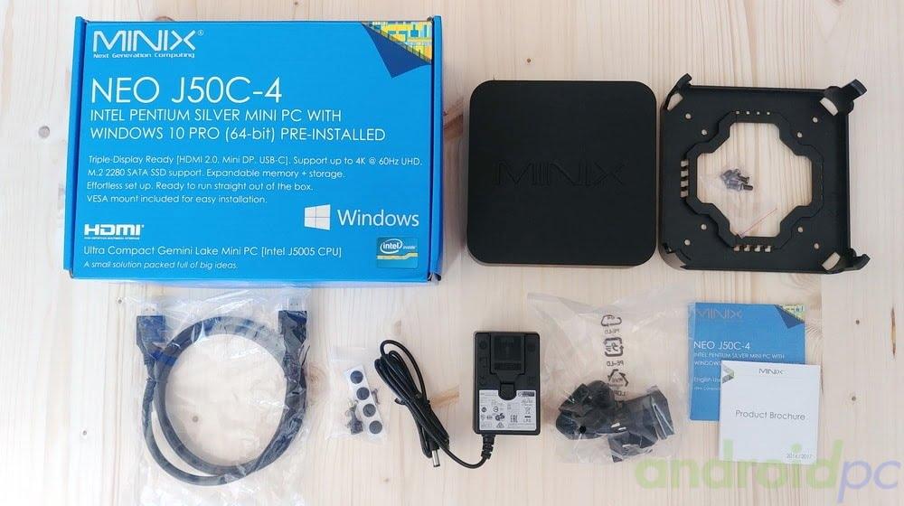 REVIEW: MINIX NEO J50C-4 con procesador J5005 y mando MINIX NEO W2