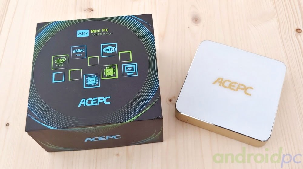 REVIEW: ACEPC AK7 un mini PC con procesador Intel Celeron