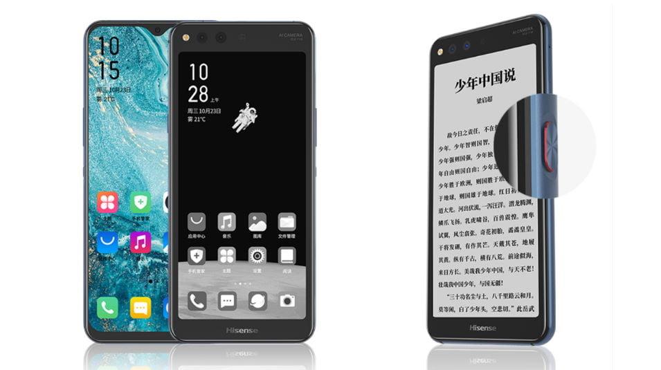 HiSense A6L un nuevo Smartphone con pantalla dual LCD y